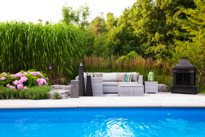 SITTING AREA INGROUND POOL DEARBORN DESIGNS LANDSCAPES 8