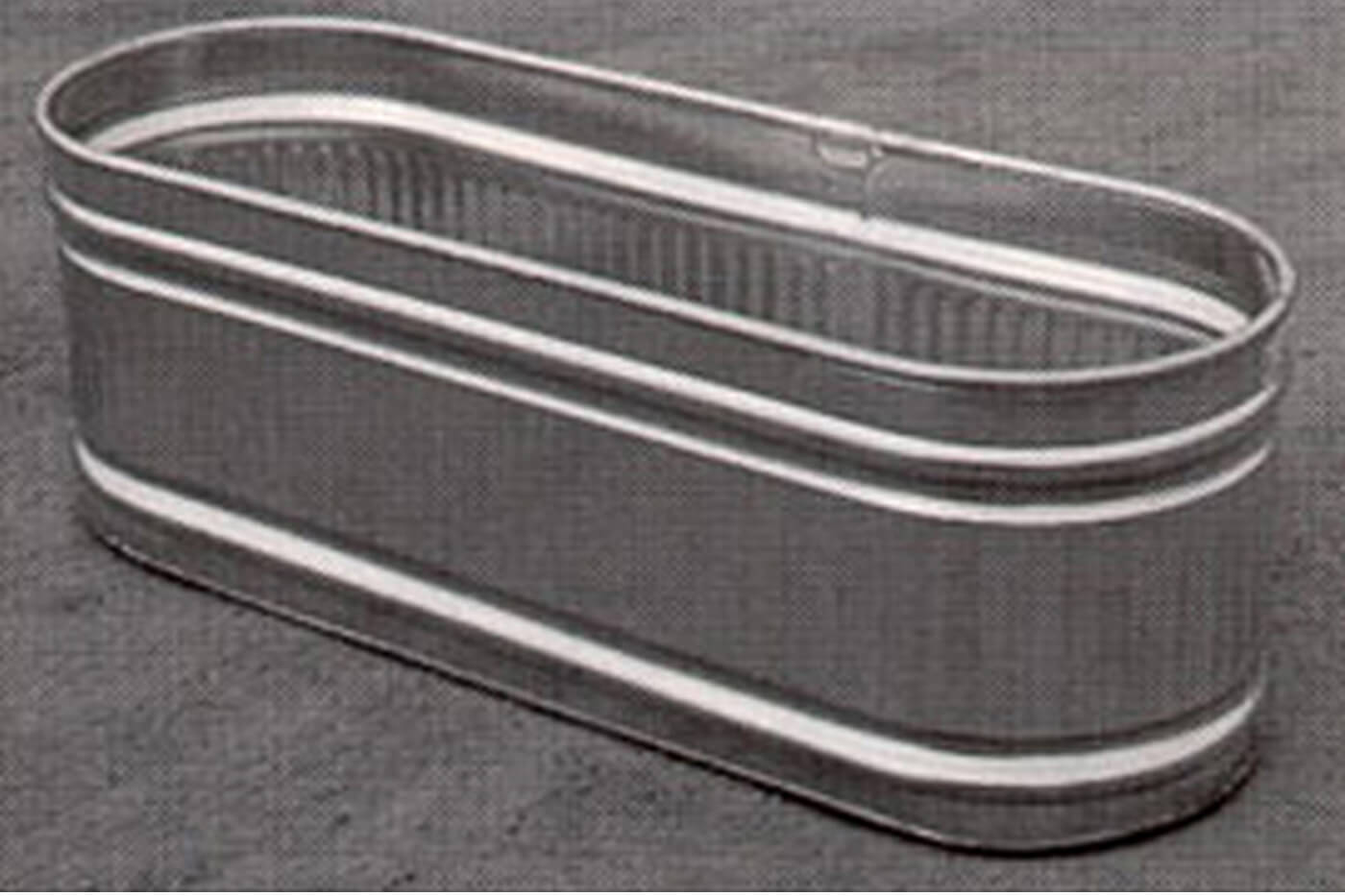 Galvanized Trough from Rona