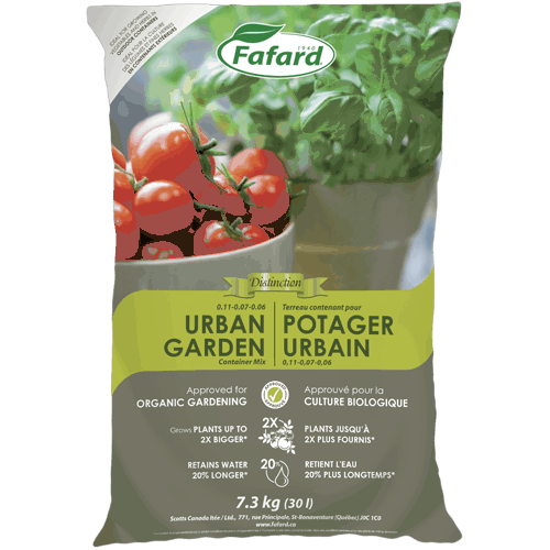 Fafard's Urban Garden Container Mix Available through Ego's Garden Center Online
